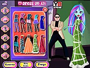 Monster High Gangnam Style játék